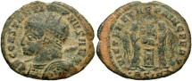 Ancient Coins - Constantine I, AE3, 319, Siscia, Officina 2 - RIC VII, 84