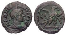Ancient Coins - Maximianus, AE Tetradrachm, 295/296 (Year 11), Egypt-Alexandria - Emmett 4104; Milne 5235; Curtis --; BMC -- (Ex Keith Emmett Collection)
