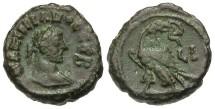 Ancient Coins - Maximianus, AE Tetradrachm, 294/295 (Year 10), Egypt-Alexandria - Emmett 4108; Milne 5190 variant; Curtis --; BMC 2598 (Ex Keith Emmett Collection)