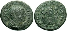 Ancient Coins - Roman Imperial, Constantine I, AE3, 318-319, Siscia, Officina 3 - RIC VII, -- (cf. RIC VII 53 for type)