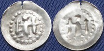 World Coins - French States-Bishopric City of Strasbourg, Angelpenny, 1296-1334 - E & L 315