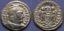 Ancient Coins - Constantine I, AE3, 318-319, Siscia, Officina 1 - RIC VII, 54