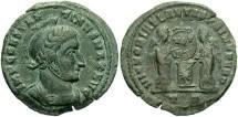 Ancient Coins - Constantine I, AE3, 318-319, Ticinum, Officina 3 - RIC VII, 87