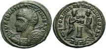 Ancient Coins - Constantine I, AE3, 319, Siscia, Officina 4 - RIC VII, 61