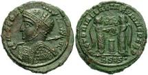 Ancient Coins - Constantine I, AE3, 319, Siscia, Officina 2 - RIC VII, 61
