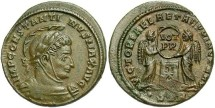 Ancient Coins - Constantine I, AE3, 319, Trier, Officina 2 - RIC VII, 221