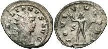 Ancient Coins - Gallienus, Silvered Antoninianus, 260-268, Sole Reign, Rome - RIC V, Part I, 221; Göbl 348a