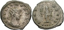 Ancient Coins - Gallienus, Silvered Antoninianus, 266-267, Sole Reign, Asia (RIC) Antioch (Göbl) - RIC V, Part I, 613; Göbl 1640b (Ex Keith Emmett Collection)