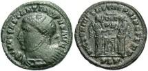 Ancient Coins - Constantine I, AE3, 319-320, London - RIC VII, 158 (Unattested legend break)