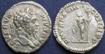Ancient Coins -  Roman Imperial, Septimius Severus, AR Denarius, 210, First Issue, Rome -  RIC IV, Part I, 234