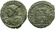 "Ancient Coins - ""Constantine I"", AE3, VLPP Imitative Type, ""Trier"" Mint, Officina 1"