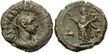 Ancient Coins - Diocletian, AE Tetradrachm, 286/287 (Year 3), Egypt-Alexandria - Emmett 4060, Milne -- (Ex Keith Emmett Collection)