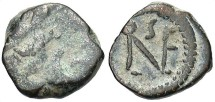 Ancient Coins - Leo I, AE4, c.468-473, Late Period, Uncertain Mint - RIC X, 692