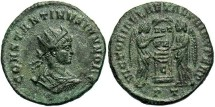 Ancient Coins - Constantine II, AE3, 319, Ticinum, Officina 1 - RIC VII, 95