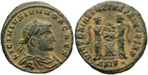 Ancient Coins - Licinius II, AE3, 319, Siscia, Officina 4 - RIC VII, 70 (Unattested officina)