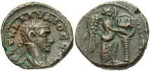 Ancient Coins - Claudius II, AE Tetradrachm, 268 (Year 1), Egypt-Alexandria - Emmett 3891; Milne 4199; Curtis 1715 (Ex Keith Emmett Collection)