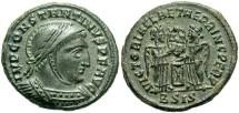 Ancient Coins - Constantine I, AE3, 318-319, Siscia, Officina 2 - RIC VII, 53