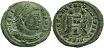 Ancient Coins - Crispus, AE3, 319, Siscia, Officina 4 - RIC VII, 87