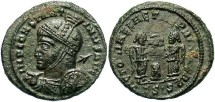 Ancient Coins - Constantine I, AE3, 318-319, Siscia, Officina 3 - RIC VII, 56