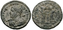 Ancient Coins - Constantine I, AE3, 319, London - RIC VII, 156