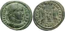 Ancient Coins - Licinius II, AE3, 319, Siscia, Officina 4 - RIC VII, 89