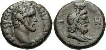 Ancient Coins - Antoninus Pius, AE Tetradrachm, 144/145 (Year 8), Egypt-Alexandria - Emmett 1426; Milne 1776; Curtis 658-659; BMC 977 variant; Dattari 2344 (Ex Keith Emmett Collection)