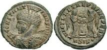 Ancient Coins - Constantine I, AE3, 319-320, Siscia, Officina 1 - RIC VII, 95