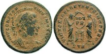 Ancient Coins - Constantine I, AE3, 318-319, Trier, Officina 2 - RIC VII, 209