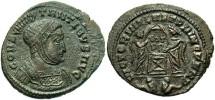 Ancient Coins - Constantine I, AE3, 319-320, Lugdunum - RIC VII, 65