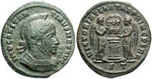 Ancient Coins - Constantine I, AE3, 318-319, Ticinum, Officina 2 - RIC VII, 82
