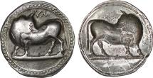Lucania, Sybaris, c. 540-520 BC, AR incuse stater