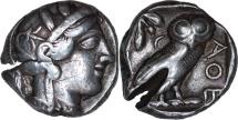 Ancient Coins - Athens, c. 454-404 B.C. - Tetradrachm