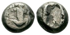 Ancient Coins - Persia, Achaemenid empire, temp. of Darios I to Xerxes I, c. 505-480 BCE - AR fourre siglos