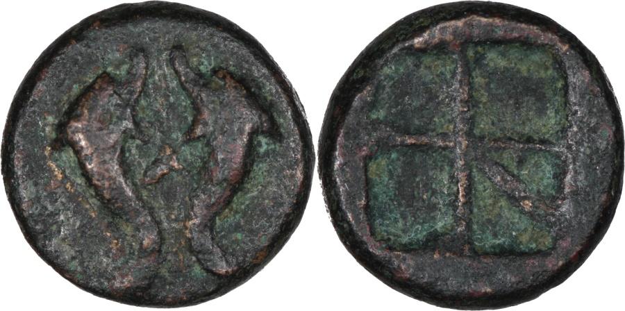 Ancient Coins - Islands off Attica, Aegina. c. 350-338 BC AE 13