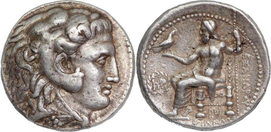 Ancient Coins - Seleucid Kingdom, Seleukos I. c 312-281 BC. AR tetradrachm