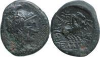 Ancient Coins - Macedonia, Pella. struck after 148 BC. Athena/Biga