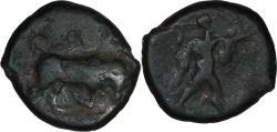 Ancient Coins - Lucania, Poseidonia. C. 350-280 BC. AE 15