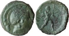 Ancient Coins - Lucania, Poseidonia. C. 400-370 BC. AE 16