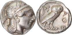 Ancient Coins - Attica, Athens, Tetradrachm, c. 454-404 BC