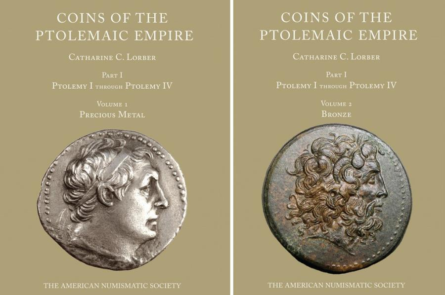 Ancient Coins - Lorber, Coins of the Ptolemaic Empire. Part I - Ptolemy I-Ptolemy IV - 2 vols set * New copy *