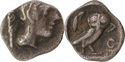 Ancient Coins - Attica, Athens, c. 454-404 BC. AR, Hemiobol with pedigree.