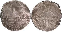 World Coins - Bolivia, Potosi, Cob 4 reales, Philip II (1580-1585)