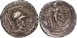 Ancient Coins - Roman Republic, C. Vibius Varrus, 42 BCE.
