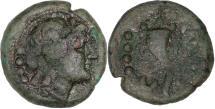 Ancient Coins - Lucania, Paestum c. 281-201 BC - Triens AE 17