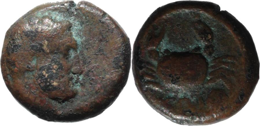 Ancient Coins - Islands off Caria, Cos (Kos). C. 337-330 BC. AE 10