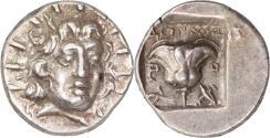 Ancient Coins - Islands off Caria, Rhodes. c. 125-88 BC. AR Hemidrachm