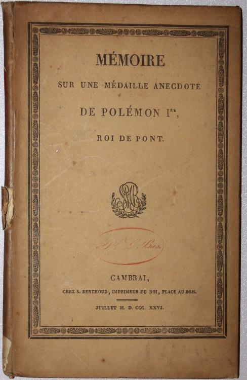 M moire sur une m daille anecdote de pol mon ier roi de pont cambrai 1826 by le chevalier - Le roi du matelas cambrai ...