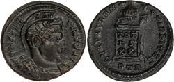 Ancient Coins - Rome, Constantine, AD 307-337, AE Follis, Trier mint, struck AD 321