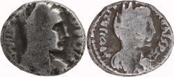 Ancient Coins - Nabatean Kingdom, Petra, Malichus II with Shaqilat, AR drachm, AD 40-70