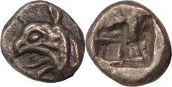 Ancient Coins - Ionia, Phokaia, c. 521-478 BC. AR, diobol.